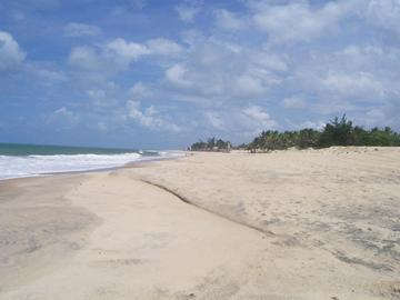 Cumbuco Beach in Fortaleza