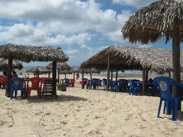 Futuro Beach in Fortaleza